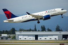 2019_06_15 Delta CSeries-39 (jplphoto2) Tags: a220 a220100 bsc100 bombardier bombardiercseries cs100 cseries deltaairlines deltaairlinesa220100 deltaairlinescseries jdlmultimedia jeremydwyerlindgren aircraft airline airplane airport aviation