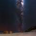 Milky Way at Salmon Beach - Windy Harbour, Western Australia