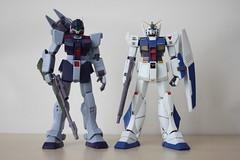 [Robot魂] #250 RGM-79SP GM Sniper II (ver. A.N.I.M.E) X #234 RX-78NT-1 GUNDAM NT-1(ver. A.N.I.M.E) (! * `n@men!cht) Tags: gundam anime robot魂 rgm79sp gm sniper bandai 0080 rx78nt1 nt1 alex