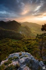 jurassic sunset (yves_matiegka) Tags: switzerland sunset jura nature view landscape rocks scenic hills mountains juramountains
