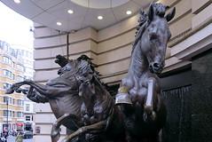 Horses of Helios (Snapshooter46) Tags: horsesofhelios bronze sculpture sculptor rudyweller haymarket london