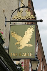 The Eagle Tavern, 124 High Street, Rochester (Ray's Photo Collection) Tags: pub rochester sign highstreet theeagletavern 124 publichouse medway kent bird