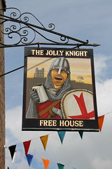 The Jolly Knight, Rochester (Ray's Photo Collection) Tags: rochester medway kent pub sign publichouse thejollyknight