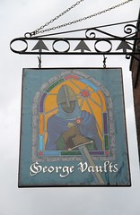 George Vaults, Rochester (Ray's Photo Collection) Tags: rochester medway kent pub sign publichouse georgevaults