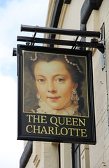 The Queen Charlotte, Rochester (Ray's Photo Collection) Tags: pub rochester sign thequeencharlotte publichouse medway kent