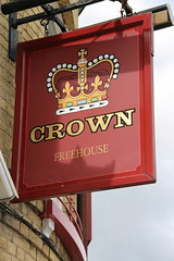 The Crown, Rochester (Ray's Photo Collection) Tags: rochester thecrown crown pub sign publichouse medway kent