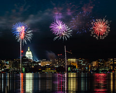190629-EOSR5027 (AChucksEyeView) Tags: fireworks wisconsin capital night water colors