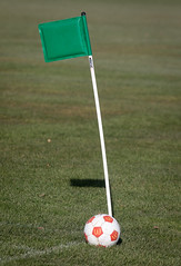 Green Corner Flag (180/365) (johnstewartnz) Tags: soccer football burnsidepark fc2011 canon canonapsc apsc eos 100canon 7dmarkii 7d2 7d canon7dmarkii canoneos7dmkii canoneos7dmarkii 70200mm 70200 70200f28 70200mmf28 sport green crazytuesday crazytuesdaytheme
