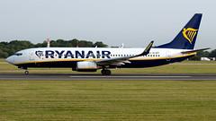 Ryanair EI-DPY 737-8AS EGCC 29.06.2019 (airplanes_uk) Tags: 29062019 737 737800 7378as aviation boeing eidpy man manchesterairport planes ryanair