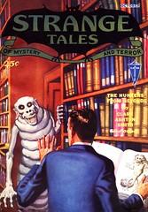Strange Tales of Mystery and Terror - October 1932 (Merodema Books &c) Tags: boeken boek book livre libro libri buch bücher bok leabhar bog liber