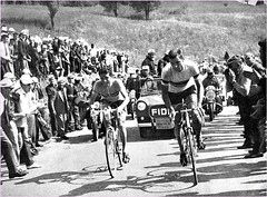 1961 GIRO Jerseys side by side (Sallanches 1964) Tags: giroditalia 1961 pambianco rikvanlooy worldchampionroadcycling magliarosa mountainstage