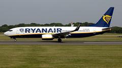 Ryanair 9H-QAF 737-8AS EGCC 29.06.2019 (airplanes_uk) Tags: 29062019 737 737800 7378as 9hqaf aviation boeing man manchesterairport planes ryanair