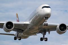 EC-MXV (Andras Regos) Tags: aviation aircraft plane fly airport lhr egll heathrow approach landing spotter spotting iberia airbus a350 a359 a350900 xwb a350xwb