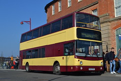 Harpur's Coaches X423PFE (Will Swain) Tags: derby 23rd february 2019 bus buses transport transportation travel uk britain vehicle vehicles county country england english derbyshire harpurs coaches x423pfe former 00d70111 dubiln av111 winter ales festival beer camra