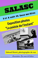 Affiche expo photos (Gérard Barré) Tags: shot soul soulstreet streetshoot decisive moment porno street portrait scene girl boy photographie sex porn faces creatives camera eye lens montpellier france city candid people gens rue musée museum plage beach concert group groupe dog chien animal love glasses legs selfie art streetshooter black white