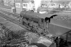 c.1960 - Brough, East Riding of Yorkshire. (53A Models) Tags: britishrailways wd austerity 8f 280 90688 steam freight brough eastyorkshire train railway locomotive railroad
