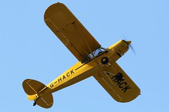 Piper PA-18 Super Cub G-HACK (Craig S Martin) Tags: aircraft aviation airplane kemble
