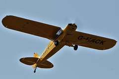 Piper PA-18-150 Super Cub G-HACK (Craig S Martin) Tags: aircraft aviation airplane kemble