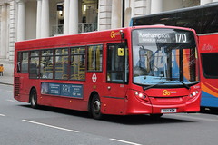 SE201 YY14 WDW (ANDY'S UK TRANSPORT PAGE) Tags: buses london victoria londoncentral goaheadlondon