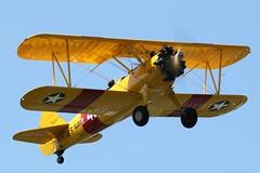 Boeing Stearman A75N1 N68427 (Craig S Martin) Tags: aircraft aviation airplane kemble