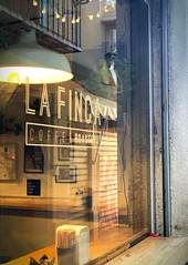 La Finca Coffee, Granada, Spain! (Pdudleyvfx) Tags: shop window reflection coffee spain espana granada lafinca