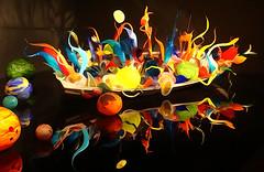 Chihuly Garden and Glass, Seattle, WA (SomePhotosTakenByMe) Tags: boat boot usa unitedstates america amerika seattle city stadt washington chihuly museum ausstellung exhibition seattlecenter kunst art glas glass photoeffect effect effekt