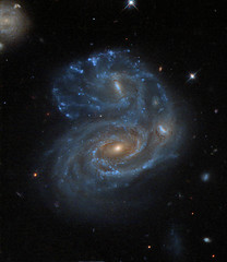 Arp 272 - HST (LaydeeDem) Tags: galaxy hubble space nasa esa