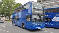 BlueStar 1548 (HJ63 JKX) Southampton 30/6/19 (jmupton2000) Tags: hj63jkx alexander dennis enviro 400 trident bluestar blue star goahead south coast solent line uk bus