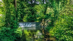 Waterfall - 7009 (✵ΨᗩSᗰIᘉᗴ HᗴᘉS✵66 000 000 THXS) Tags: cascade water waterfall huaweip30pro p30 green landscape belgium europa aaa namuroise look photo friends be yasminehens interest eu fr party greatphotographers lanamuroise flickering