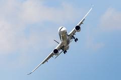 Virage A350 (Shooting Flight) Tags: fwmil aéropassion airport aircraft airlines aéroport aviation avions airbus envol virage 6d photography photos passage paris parislebourget lebourget lfpb lbg a350 a350xwb a3501000 a3501041 industrie canon natw