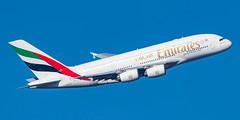 Emirates Airbus A380-861 A6-EDQ (Thames Air) Tags: emirates airbus a380861 a6edq london heathrow 09r banker feltham park