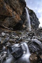 Feeding Oeschinensee (timopfahl) Tags: schweiz switzerland waterfall wasserfall oeschinensee kandersteg silkywater water rocks alpes alpen