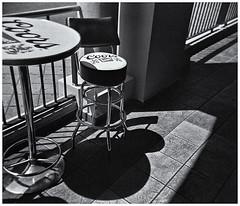 Lomography (Black and White Fine Art) Tags: holga holga120n plasticcamera camaraplastica toycamera camaradejuguete kodakbw400cnexp2007 kodakd76 sombras shadows bn bw sanjuan oldsanjuan viejosanjuan puertorico niksilverefexpro2 lightroom3