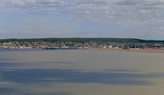 _DSC_5145_Weston From Brean Down_stitch (Ian Gearing) Tags: brean somerset south west england levels beach landscape severn estuary river