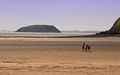 _DSC_5569_In Threes (Ian Gearing) Tags: brean somerset south west england levels beach landscape severn estuary river