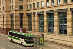Exchange Express (SRB Photography Edinburgh) Tags: lothian lothiancountry green arrow greenarrow express volvo b8 plaxton coaches ukbus buses bus new edinburgh