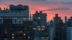 New York Sunset (20190629-DSC00977) (Michael.Lee.Pics.NYC) Tags: newyorksunset eastvillage chryslerbuilding conedison sky clouds architecture cityscape sony a7rm2 fe24105mmf4g