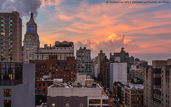 New York Sunset (20190625-DSC00964) (Michael.Lee.Pics.NYC) Tags: newyorksunset eastvillage chryslerbuilding conedison sky clouds architecture cityscape sony a7rm2 fe24105mmf4g