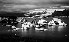Island2018_BW0748 (schulzharri) Tags: iceland island schwarz weis black white landscape landschaft nord stein stone rock felsen eis ice
