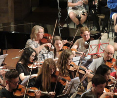 DSCN4046c 1812 Overture. Ealing Youth Orchestra and Alumni. 60th Anniversary concert. Conductor Leon Gee. 29th June 2019. St Barnabas Church, west London (Paul Ealing 2011) Tags: ealing youth orchestra eyo 29 june 2019 conductor leon gee 60th anniversary concert alumni 1812 overture tchaikovsky st saint barnabas church west london uk