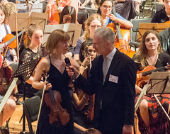 DSCN4016c  Guest Leader Fenella Humphreys, Ealing Youth Orchestra and Alumni. 60th Anniversary concert. Conductor Leon Gee. 29th June 2019. St Barnabas Church, west London (Paul Ealing 2011) Tags: ealing youth orchestra eyo 29 june 2019 conductor leon gee 60th anniversary concert alumni 1812 overture tchaikovsky st saint barnabas church west london uk guest leader fenella humphreys