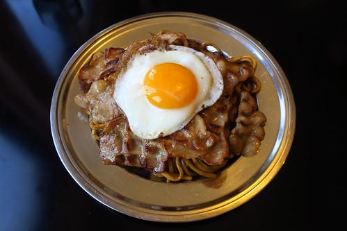 (stir-fried noodles) Yakisoba Shota, Aomori