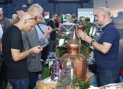 Gin samples at Malton Food Festival 2019 (Tony Worrall) Tags: maltonfoodfestival malton food festival yorkshire event show annual town foodies eat candid shoppers people gather gin sample try taste drink bottle still brew spirit