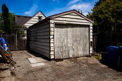 Old Garage (Errol_S) Tags: seattle garage walk texture ravenna city leicam10p 28mmsummilux