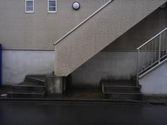 rainy / stairs (solongaway1956) Tags: 雨 階段