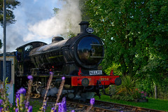 'Wymondham Abbey Halt' (Jonathan Casey) Tags: railway mid norfolk halt wymondham train station steam lner 2258 jonathan casey photography nikon d850 sigma 50mm f14