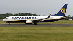 Ryanair EI-EVJ 737-8AS EGCC 29.06.2019 (airplanes_uk) Tags: 29062019 737 737800 7378as aviation boeing eievj man manchesterairport planes ryanair