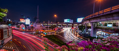 Victory Monument - Bangkok (Gerald Ow) Tags: victorymonument อนุสาวรีย์ชัยสมรภูมิ bangkok krungthepmahanakhon krungthep geraldow sony ilce7rm2 fe 1635mm f4 za oss thailand zeiss long exposure night photography street a7rmk2 a7rii a7r2 ngc