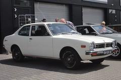 Mitsubishi Colt Lancer mk1 A70 3-10-1975 84-GX-61 (Fuego 81) Tags: mitsubishi colt lancer mk1 a70 1975 84gx61 cwodlp onk sidecode3 classic car meeting zwolle nl 2019