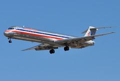 American Airlines (AA) - McDonnell Douglas (Douglas) MD-82 (DC-9-82) - N467AA - McCarran International Airport (LAS) - Las Vegas - September 24, 2013 073 RT CRP (TVL1970) Tags: nikon nikond90 d90 nikongp1 gp1 geotagged nikkor70300mmvr 70300mmvr aviation airplane aircraft airliners mccarraninternationalairport mccarranairport mccarran mccarraninternational lasvegas las klas n467aa americanairlines aa aerothrustholdings deltaairlines delta deltamaterialservices mcdonnelldouglas douglasaircraft douglasaircraftcompany douglas dac douglasdc9 douglasdc982 dc9 dc982 md82 md80 super80 super82 mcdonnelldouglasmd82 maddog prattwhitney pw jt8d jt8d217 jt8d217c